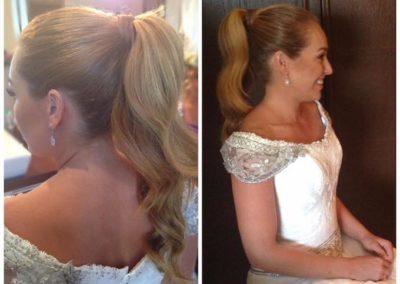 Peinado de boda Paola zobel