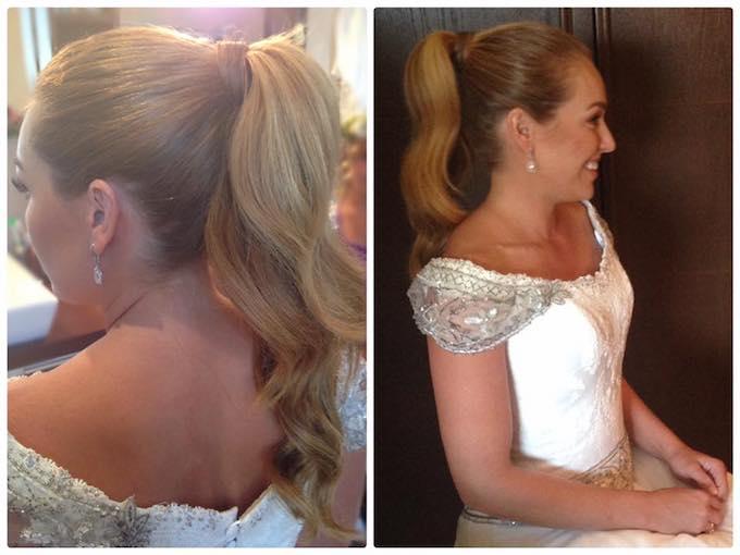 Peinado de boda Paola zobel sotogrande