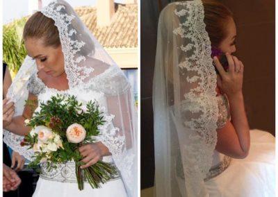 Peinado de novia Paola zobel sotogrande
