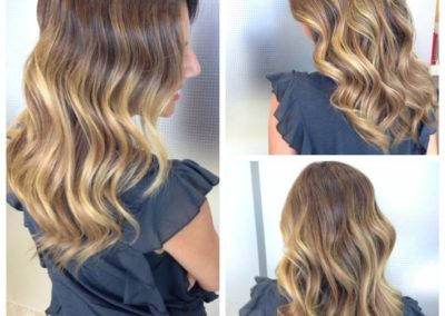 Mechas baby lights con balayage