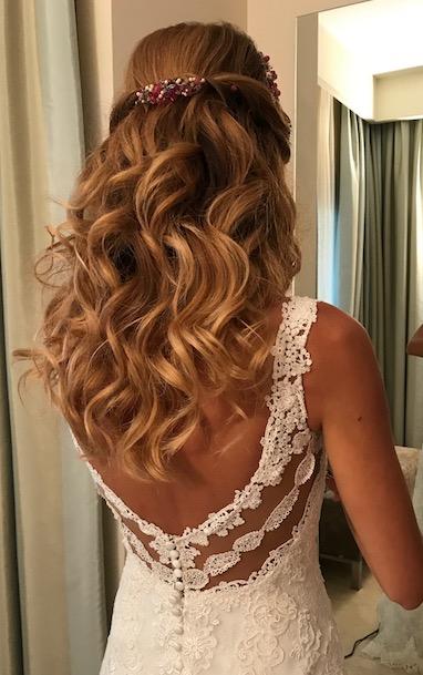 peinados de novia en marbella