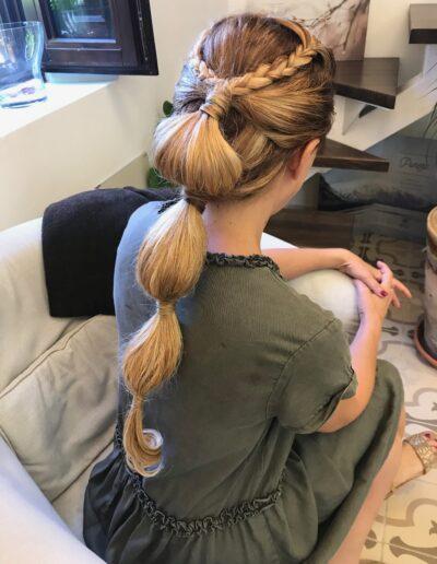 peinado fiesta