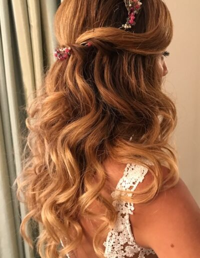 peinado novia marbella