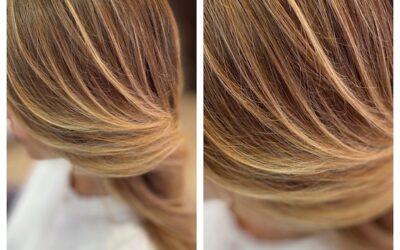 Un cabello sano es primordial  para un color bonito